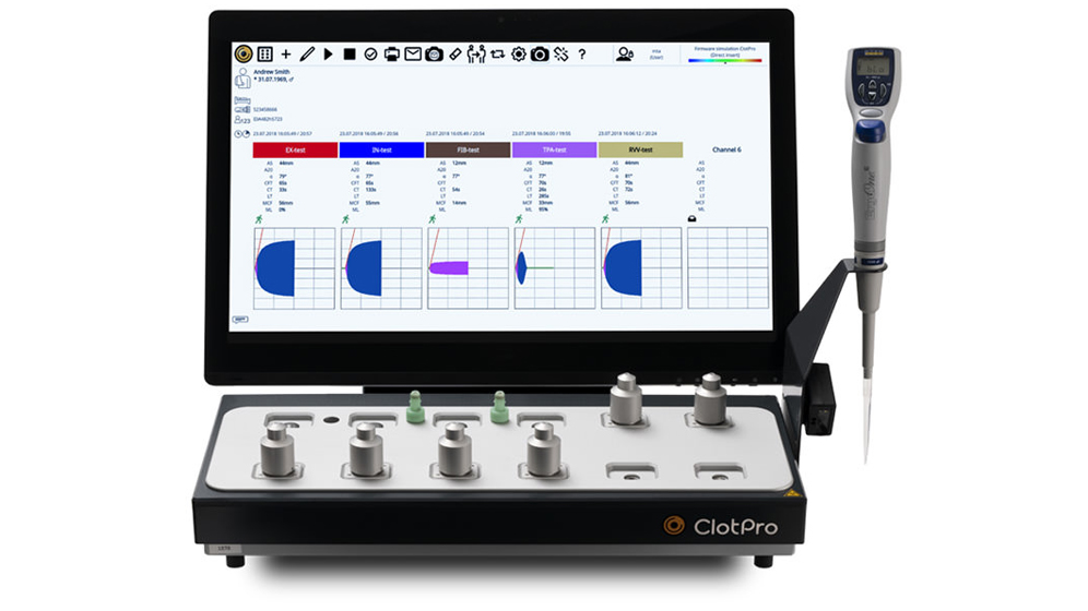 ClotPro® analyzer